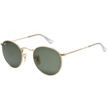 Ray-Ban RB3447 Round Metal couleur 001