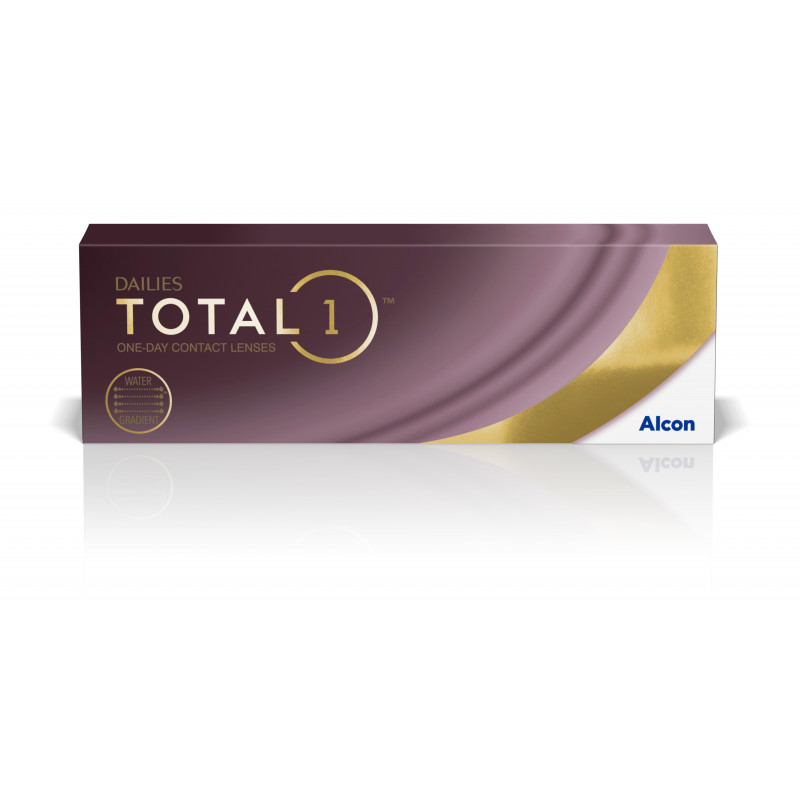 DAILIES TOTAL1®     boîte de 30 lentilles