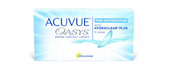 ACUVUE OASYS for Astigmatism with Hydraclear Plus boîte de 12 lentilles