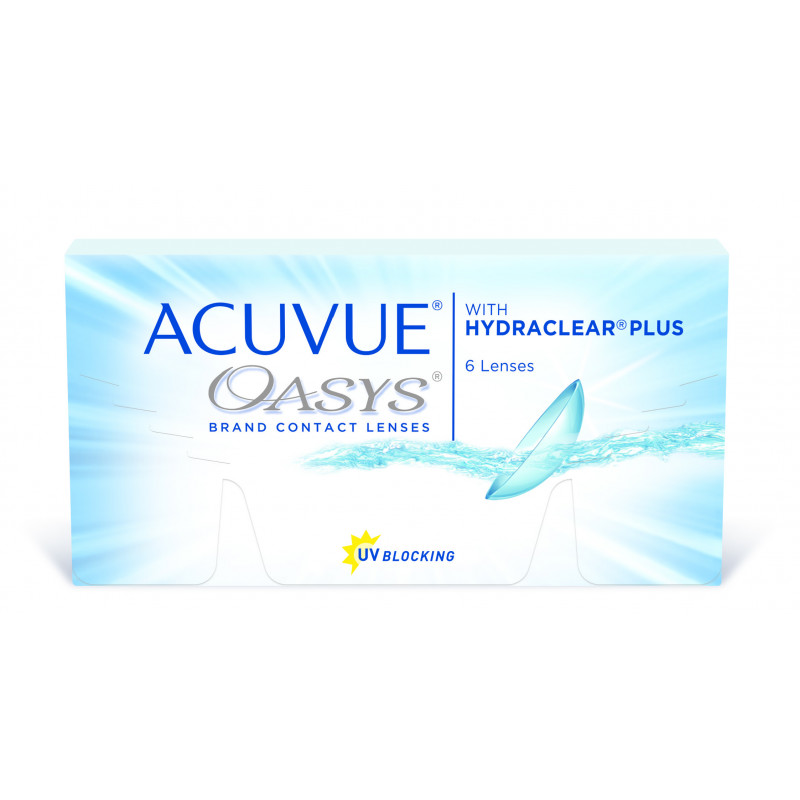 ACUVUE OASYS with Hydraclear Plus boîte de 6