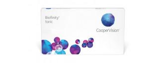 Biofinity Toric boîte de 6 lentilles