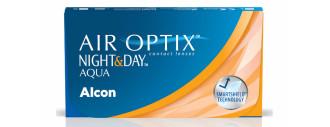 AIR OPTIX NIGHT&DAY AQUA boîte de 6 lentilles