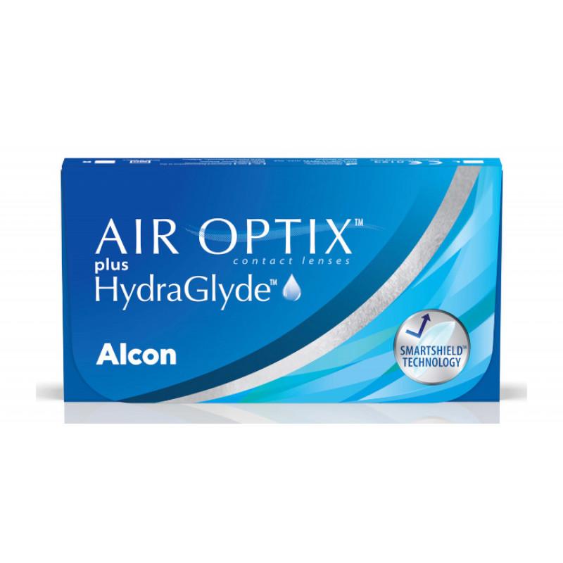 AIR OPTIX plus HydraGlyde  boîte de 6 lentilles