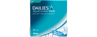 DAILIES AquaComfort Plus Toric boîte de 90