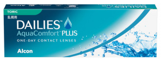 DAILIES AquaComfort Plus Toric boîte de 30 lentilles