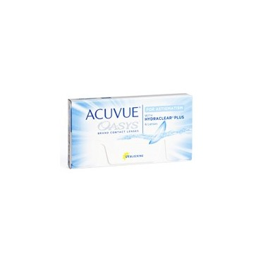 ACUVUE OASYS for Astigmatism with Hydraclear Plus boîte de 6